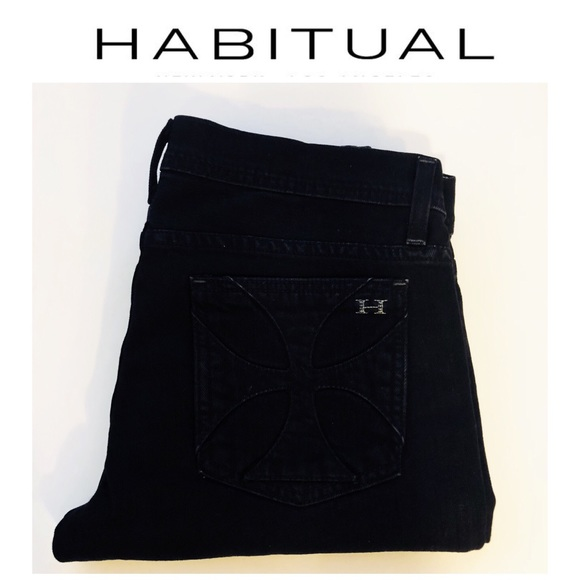 Habitual Denim - Habitual Jeans Straight Leg Size 29 in Black
